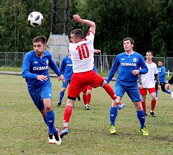 Команда «Севмаш» стала чемпионом Северодвинска по футболу