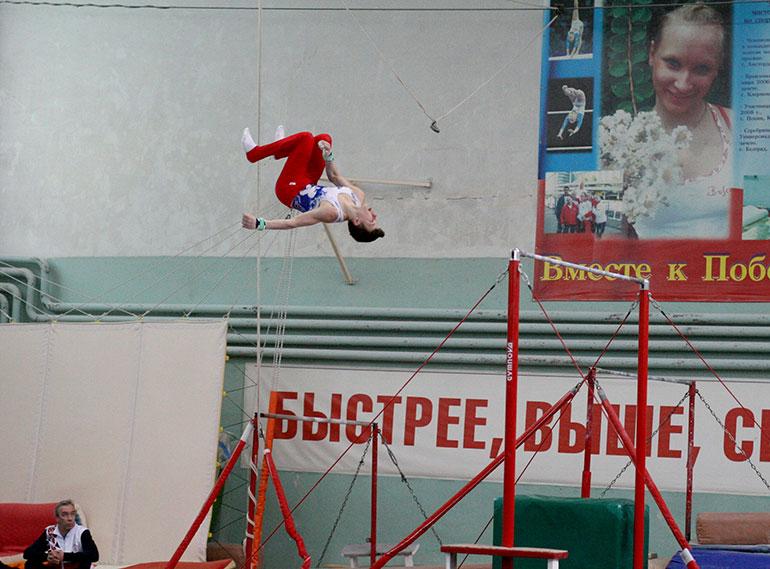 В Северодвинске прошёл чемпионат и первенство СЗФО по спортивной гимнастике среди мужчин, юниоров и юношей